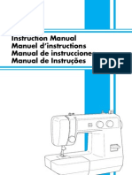 Manual de Maquina de Coser