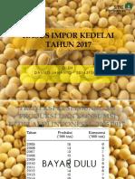 PPT Ekonomi Internasional Tentang Kasus Impor Kedelai Indonesia Tahun 2005 - 2017