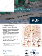 Phase III CT in Alzheimer's Disease