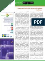 Las perspectivas de la exportación de gas boliviano
