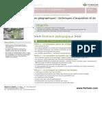 Sig Systeme d Information Geographique Techniques d Acquisition Et de Traitement Des Donnees
