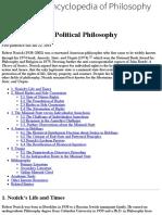 Pollitical Philosophy