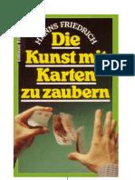 Hanns Friedrich - Die Kunst Mit Karten Zu Zaubern