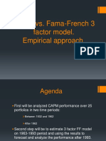 CAPM vs. Fama-French3 Model
