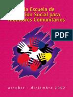 Formación Para Monitores Comunitarios