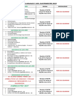 Plan de Estudios Licenciatura en Psicologia 2012.