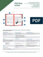 Especificações de Formato