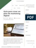 Como Crear Un Plan de Marketing Digital