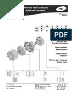 Poclain hydraulic MS Motors