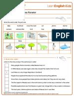 Short Stories British Tales Nessie the Loch Ness Monster Worksheet