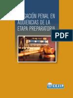 Litigacin Penal en Audiencias de La Etapa Preparatoria