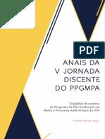 Anais Da v Jornada Discente_2016