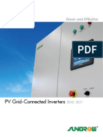 Catalogue PV Grid Connected Inverters 2010 2011