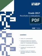 (2018-10-09) Apresentação Resultados Enade 2017 (2018-10-09)