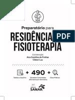 Leia Trechos Gratis Livro Preparatorio Residencia Fisioterapia