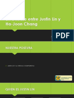 DEBATE JUSTIN LEE Y HA JOON CHANG