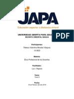 Tarea 6 - Etica Profesional de Los Docentes - Rebeca