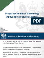 Chevening Presentation 2018 Spanish