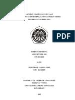 Laporan Praktikum Perhitungan Erosi Dengan Gis, m.sadiqul Iman (h1e108059)