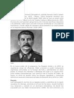 Biografia Stalin