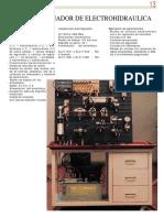 Modulo de Practicas Electrohidraulicas
