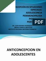 Teoria 14 - Anticoncepción en La Perimenopausia - 2014