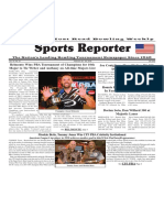 February 20 - 26, 2019  Sports Reporter