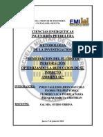 Informe Metodologia Fluidos de Perforacion