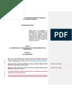 Regimento interno das Turmas Recursais do TJDFT