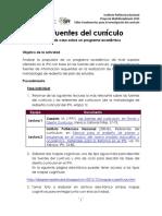 Fuentes Del Curriculum 2018