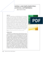 Understanding and Implementing Mobile Social Advertising