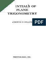 Essentials of Plane Geometry