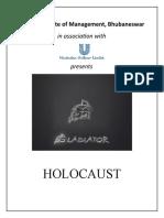 Holocaust Gladiator 2010