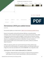 Herramientas LINUX Para Análisis Forense – Javier Tobal