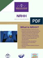 nrhh presentation 2018