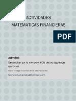 Actividades Matematicas Financieras 1 2