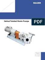 Helical Twisted Roots Pump e00636