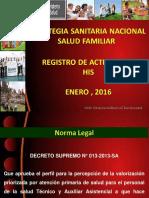 Estrategia Salud Familiar-2016 Profam