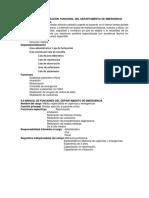 Manual de Funciones Plan Operativo Anual 2019