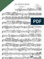Duos Pleyel Op 48 Violin 1