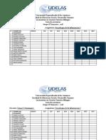 Lista Est UDELAS333