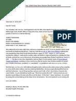 2010-10-15 -- Hillsborough County Sheriff's Office (KAB to Josiah R. Fornof)