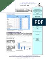 Boletín Epidemiológico Semana 24 de La Región de Salud Piura