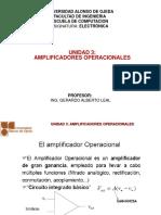 Unidad 3 Amplificadores Operacionales