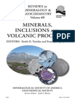 [Reviews in Mineralogy and Geochemistry 69] Keith Putirka, Frank Tepley - Minerals, Inclusions, And Volcanic Processess (2008, Mineralogical Society of America)