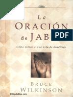 La oracion de Jabes Bruce Wilkinson.pdf