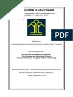 Dokumen Kualifikasi Jasa Konsultansi Perencanaan RUTAN BDG 2014