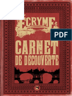 Ecryme Carnet Decouverte
