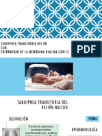 TTRN, SAM Y SDR1 pediatria
