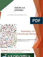 Sistemática e Taxonomia